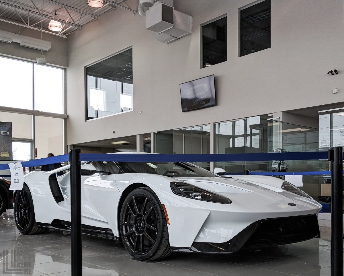 One Of The First Canadian Deliveries Of The Ford Gt In