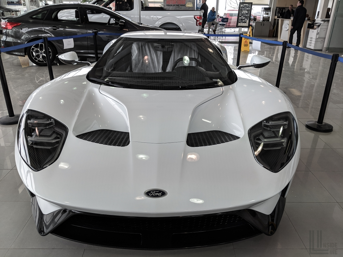 Ford Gt Made In Canada By Multimatic