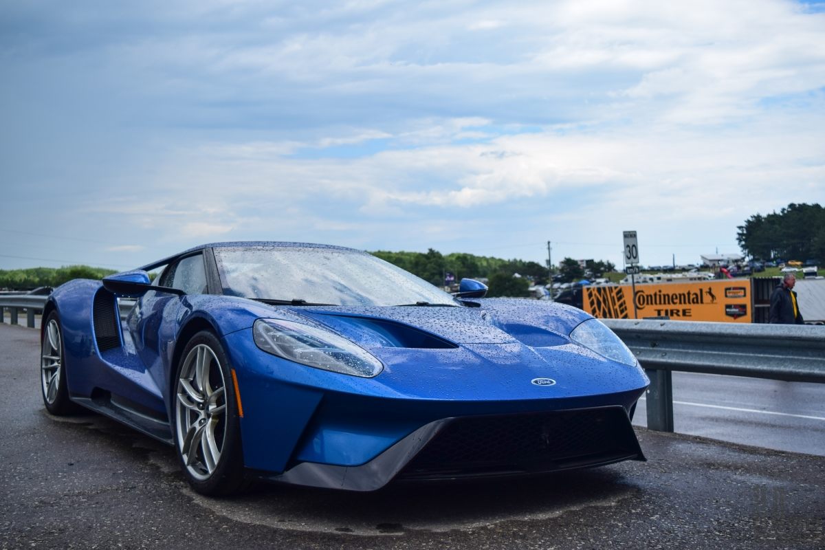 Ford Gt Held The Production Car Lap Record At Vir Until The Chevrolet Corvette Zr