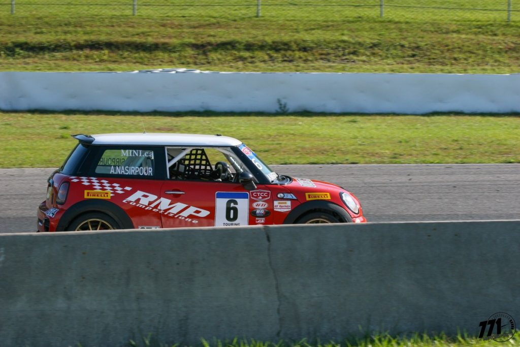 Ali Nasirpour and his turbocharged MINI Cooper S will be competing in races two and three.