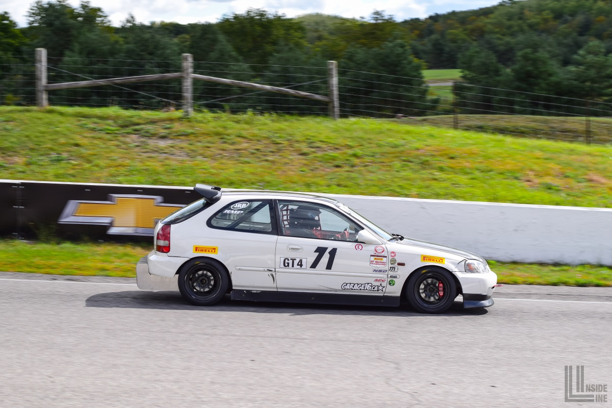 771 Motorsports Honda Civic EK hatchback at the 2018 Celebration of  Motorsport, final round of